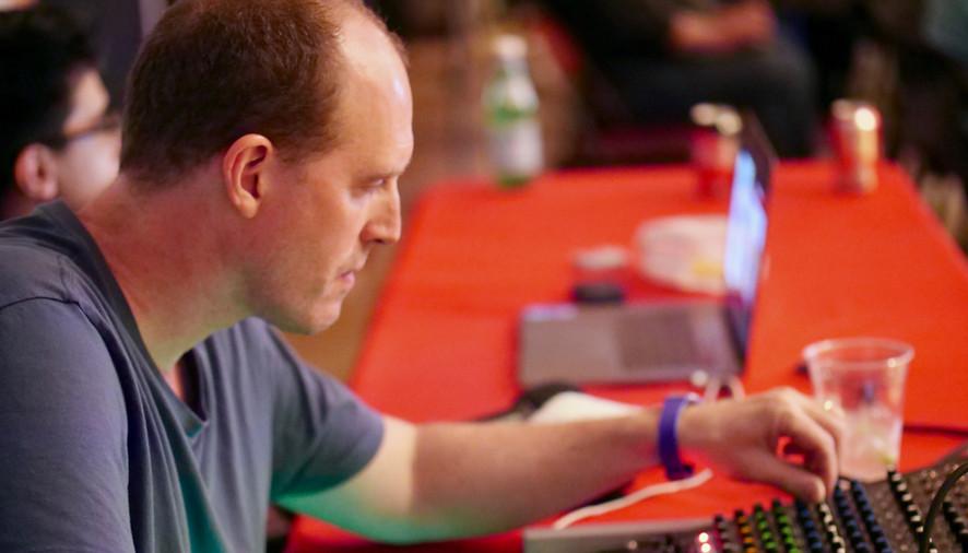 Chris Arnold our tech guru...