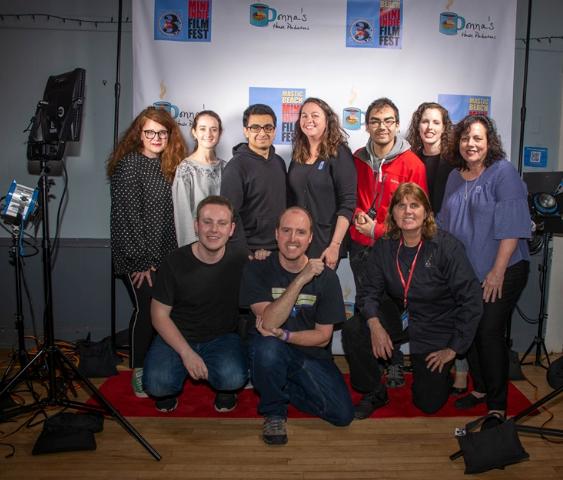 Festival Production Crew: James Evans, Chris Arnold, Endla Burrows, Donna Evans, Danielle Escalante, Alex, Liz Horbal, Kevin Parada, Alison Collins, Amy Gaipa