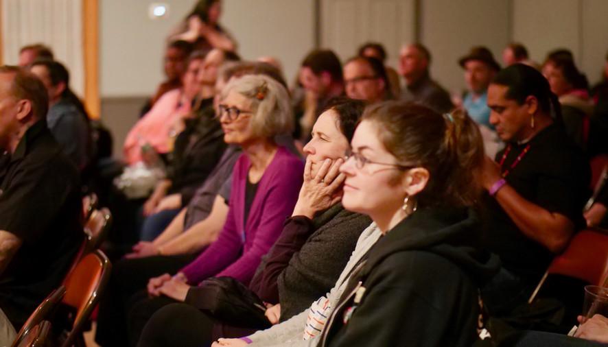 Filmmaker talkbacks held the audience's attention...