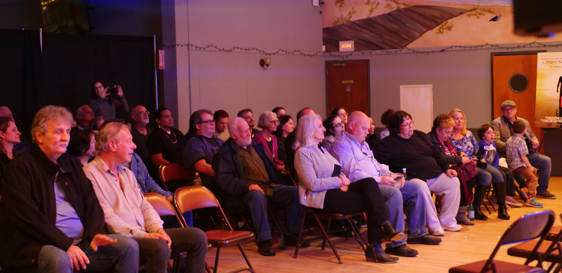 Our loyal audience...