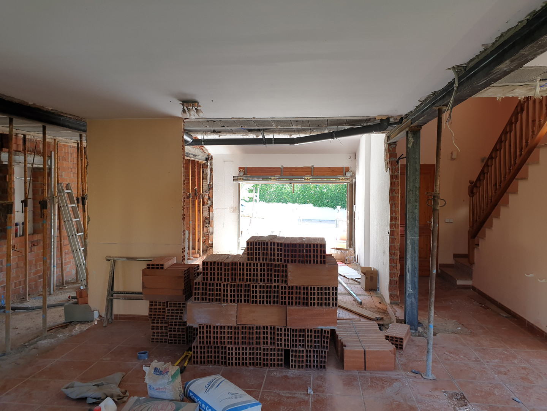 Obertura sala d'estar