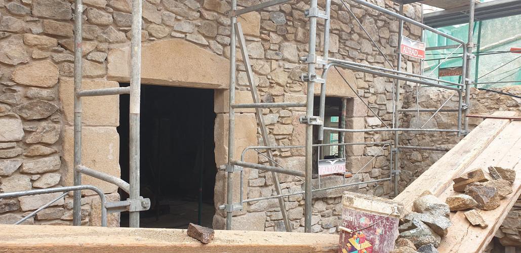 Formació façana exterior
