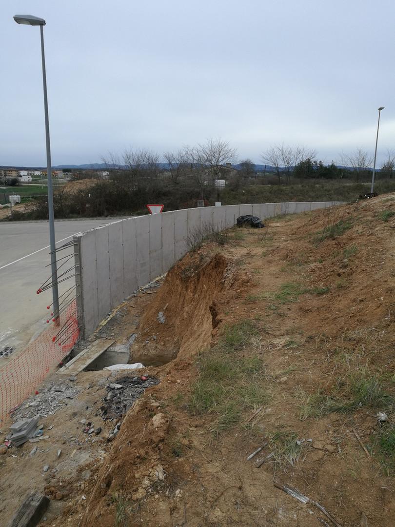 Murs de tanca perimetral