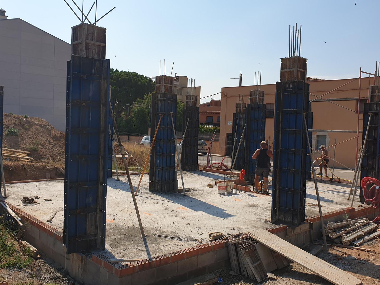 Armat pilars planta baixa