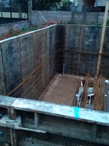 Muntatge d'encofrat murs de soterrani