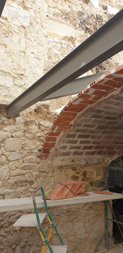 Formació sostre planta baixa