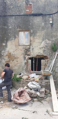 Replanteig façana