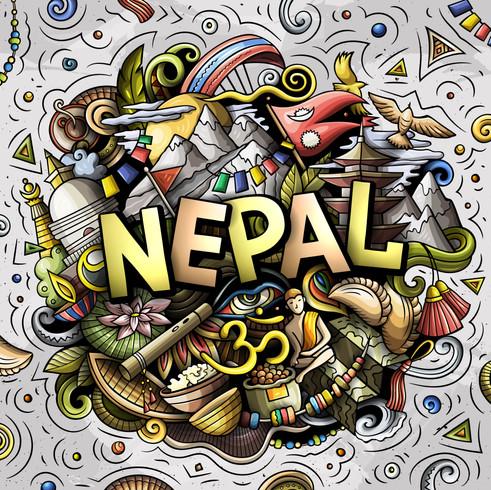 Nepal Vector art