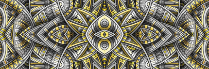 Ethnic ornament Pantone 2021