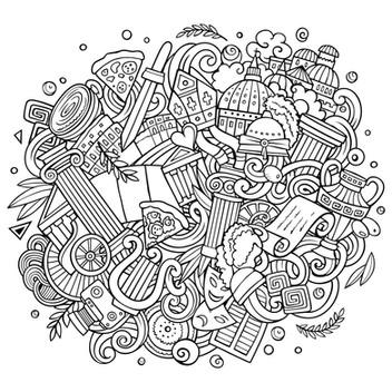 rome_doodle_word_bw_empty.jpg