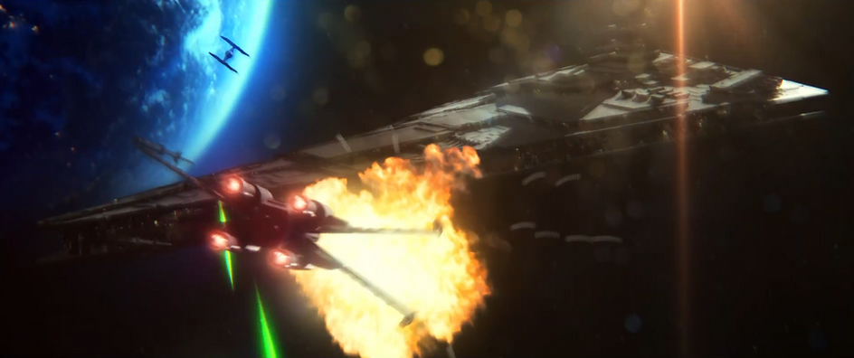 Rise of the Dark Side (Star Wars-inspired fan trailer)