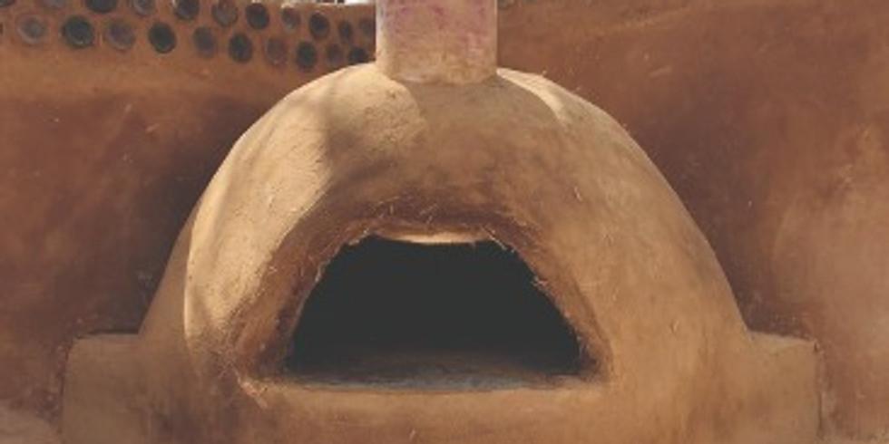 סדנת בניה טאבון מבוץ  מפגש שני