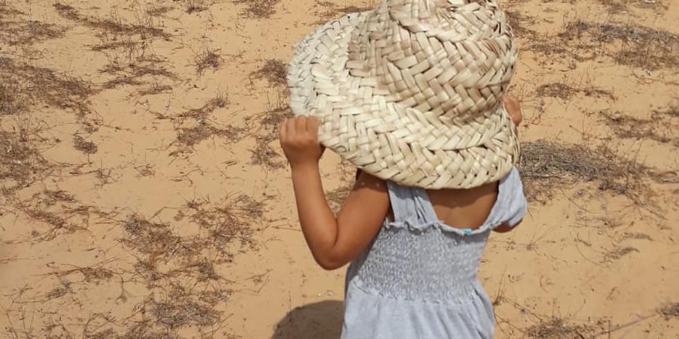 קליעת כובע קיץ עם בועז שילה
