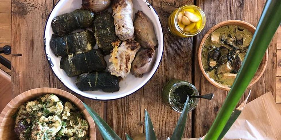 סדנת בישול טבעונית עם השפית שני בנאי