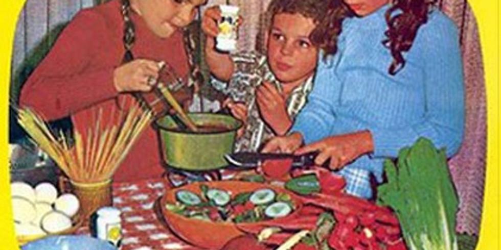 מפגש ראשון - ילדים מבשלים בריא