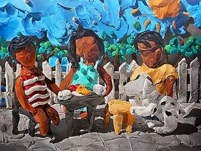 Hojatul Happy Holidays | 2020 acrylic on canvas | 150 x 200 cm