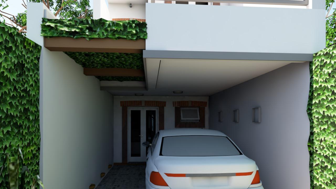 Casa Ouro Preto - Garagem dia