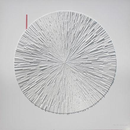 Feri Eka Candra, Cokro Manggilingan, 2020, Mixed media on Canvas, 200 x 200 cm