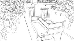 Casa Ouro Preto - croqui