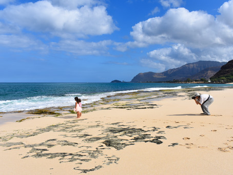 Behind the Scenes-- Mā'ili Beach