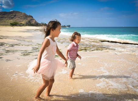 Family Session @ Mā'ili & Yokahama Beaches