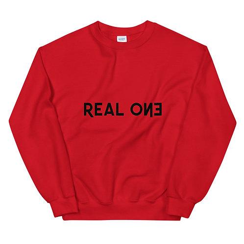 LUSU Designs Unisex Sweatshirt Collection Real One Noir Label