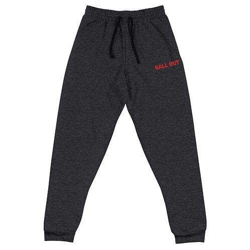 LUSU Designs Unisex Joggers Collection Ball Out Fire Label I