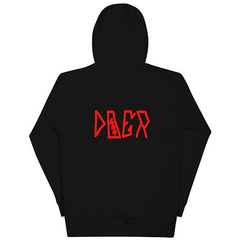LUSU Designs Unisex Hoodie Collection Doer Fire Label II