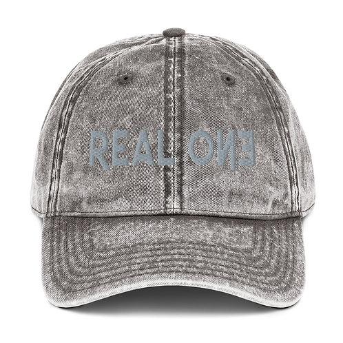 LUSU Designs Vintage Cotton Twill Cap Collection Real One Platinum Label