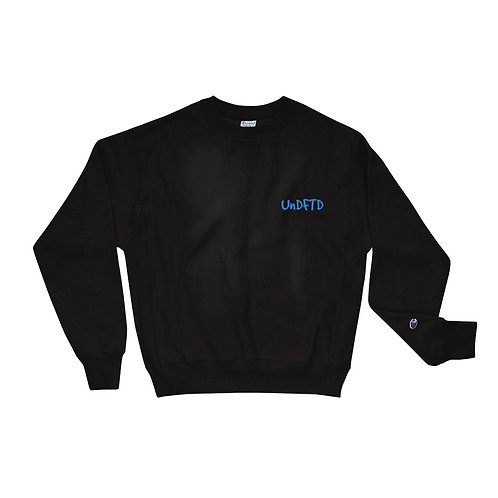 LUSU Designs Champion Sweatshirt Collection UnDFTD Azure Label II