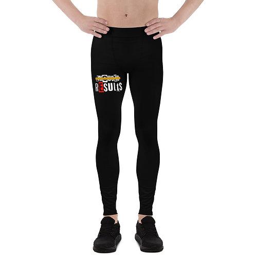 LUSU Designs Men's Leggings Results I Fire Label I