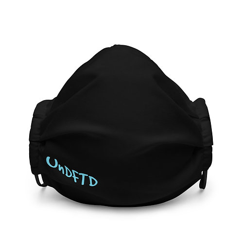 LUSU Designs Premium Face Mask UnDFTD Azure Label II