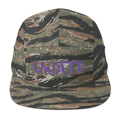 LUSU Designs Five Panel Cap Collection UnDFTD Purple Label