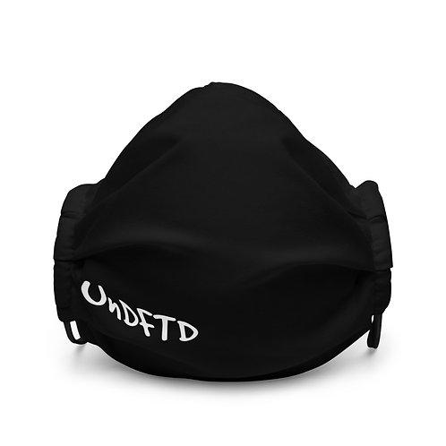 LUSU Designs Premium Face Mask UnDFTD Blanco Label II