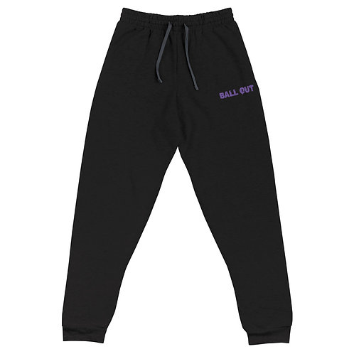 LUSU Designs Unisex Joggers Collection Ball Out Purple Label I