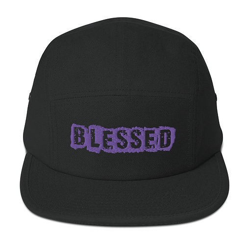 LUSU Designs 5 Panel Camper Collection Blessed O' Canada Label I