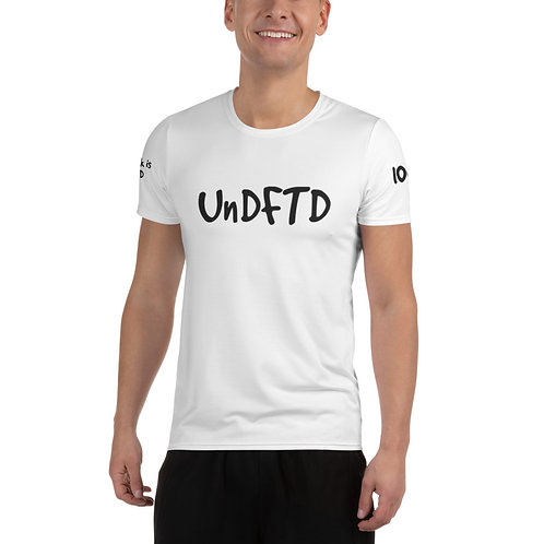 LUSU Designs Men's Athletic MaxDri T-shirt UnDFTD Noir Label II