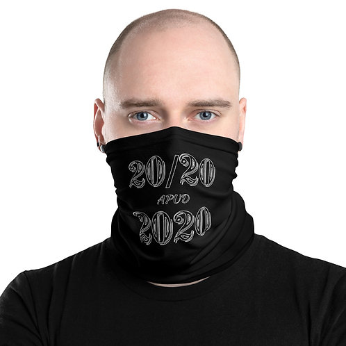 LUSU Designs Neck Gaiter 2020 Label V