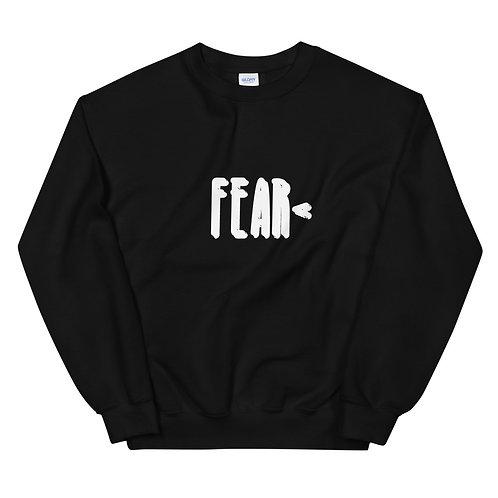 LUSU Designs Unisex Sweatshirt Collection Fearless Blanco Label