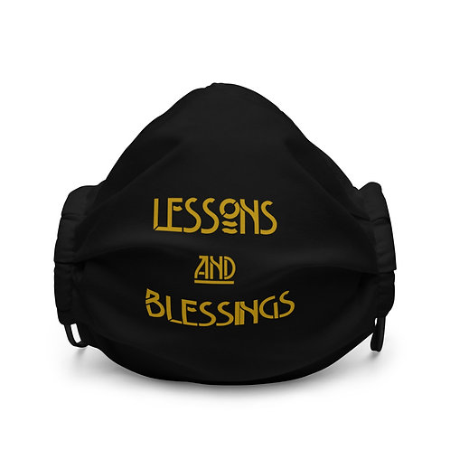 LUSU Designs Premium Face Mask Collection Lessons & Blessings Midas Label I