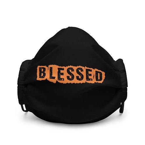 LUSU Designs Premium Face Mask Blessed Tangerine Label I