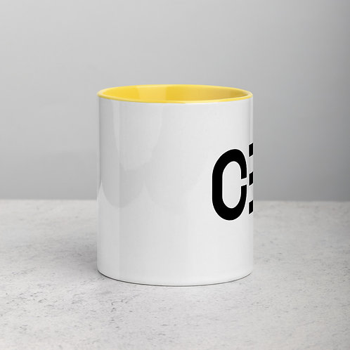 LUSU Designs Mug with Color Inside Collection CEO Black Label II