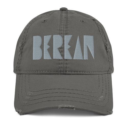LUSU Designs Distressed Dad Hat Collection Berean Platinum Label