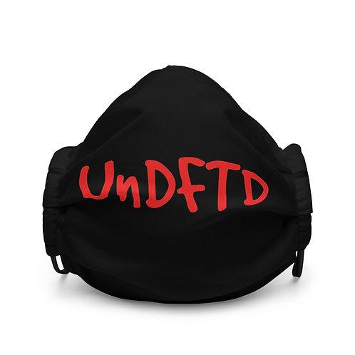 LUSU Designs Premium Face Mask UnDFTD Fire Label I