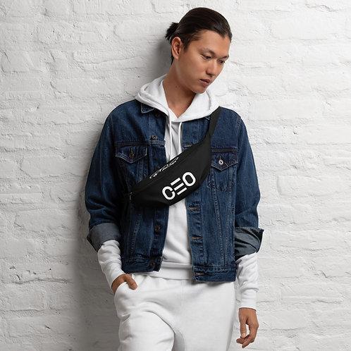 LUSU Designs Fanny Pack Collection CEO Blanco Label