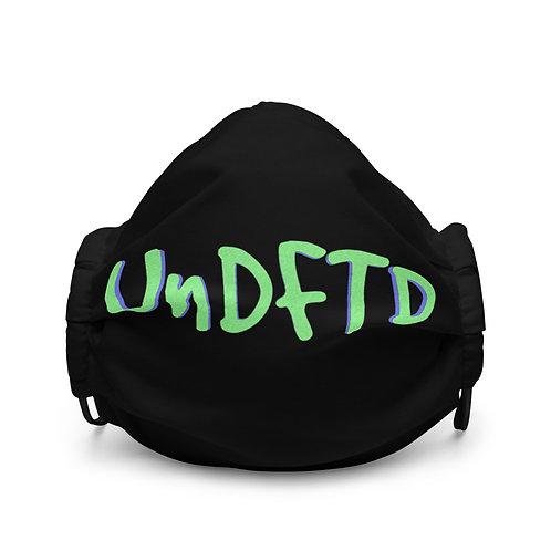 LUSU Designs Premium Face Mask UnDFTD Kiwi Grape Label
