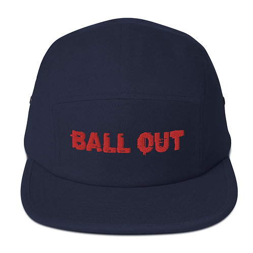LUSU Desigs 5 Panel Camper Collection Ball Out Fire Label