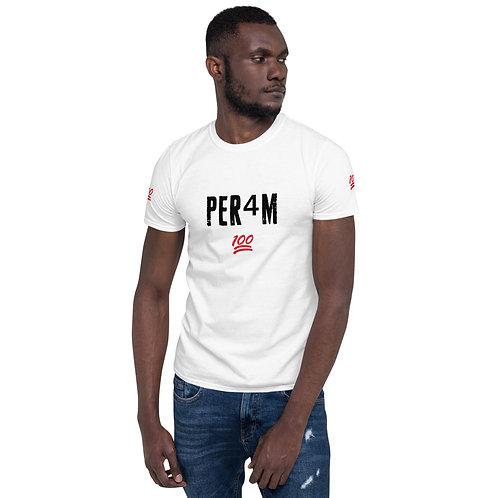 LUSU Designs Short-Sleeve Unisex T-Shirt Collection PER4M Fire Label II