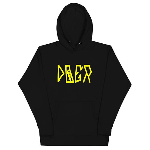 LUSU Designs Unisex Hoodie Collection Doer Canary Label I