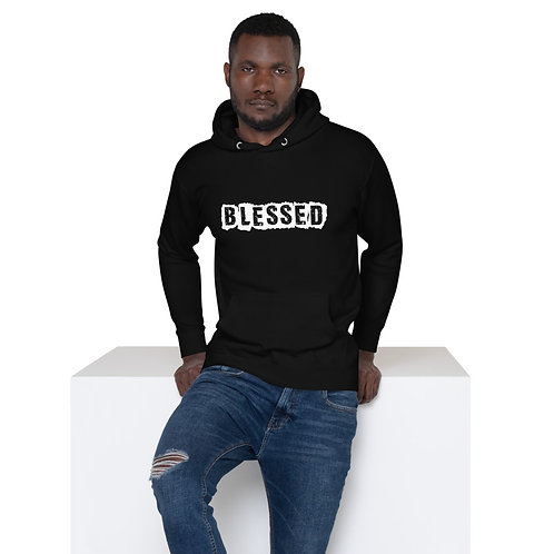 LUSU Designs Unisex Hoodie Collection Blessed Blanco Label